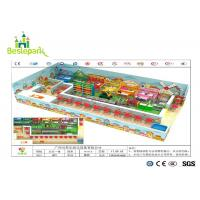 Children / Toddlers Indoor Soft Playground Anti - Static 1680 * 1000 * 350cm for sale
