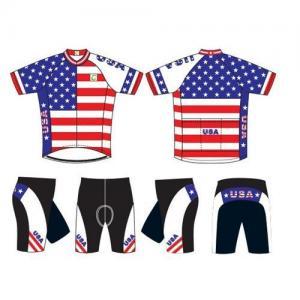China Cycling jersey and shorts set on sale