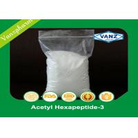 Quality Acetyl Hexapeptide-3 Human Endocrine Hormones Cas 616204-22-9 White Powder for sale