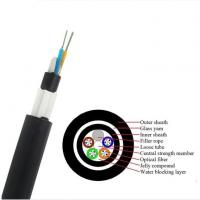 Quality GYTY53 Fiber Cable/ GYFTY73 Underground Optical Fiber Cable With Anti-biting Protection/ GYTA53 Underground Fiber Optic for sale