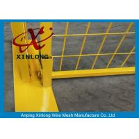 Quality Construction Fence Panels / Temporary Fencing Panels Fit Construction Site and Road for sale