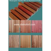 Quality How to get Wood grain effect on aluminum for sale