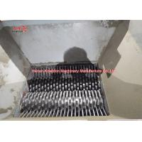 Quality Double Shaft Solid Waste Shredder High Torque Ensuring Superior Output for sale
