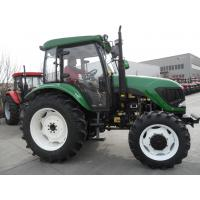 China 95.6kw Power Small Diesel Garden Tractors With Diesel Engine Dry Dual Stage Type on sale