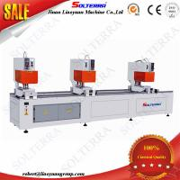 Quality UPVC Windows Three Head Seamless Welding Machines for colorful profiles SHZ3B-120x3500 for sale