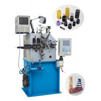 Quality Advanced CNC Compression Spring Machine Automatic Oiling For Oil Seal Springs for sale
