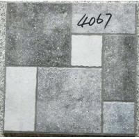Quality Grey Bathroom 400x400 Floor Tiles Rustic  3d Inkjet Printing Interior Exterior for sale