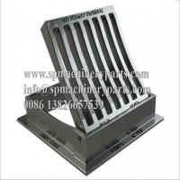 China Heavy Duty Ductile Iron Manufactured BS EN124 Class C250 Gully Gratings Hinged & Dished From China on sale