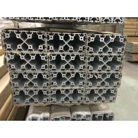 Quality Silver and Black Anodized 6063 T5 Aluminum T slot Profile / aluminum frame extrusions for sale