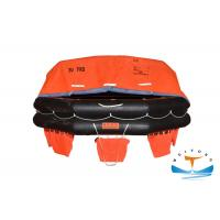 Quality Waterproof Marine Life Raft 30 Person For Sea Sailing Vessel 43m Max. Stowage Height for sale