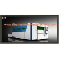 Quality Water Cooling Fibre Optic Laser Cutting Machines With Auto Feeding Shuttle Table for sale