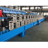 Quality Corrugated Sheet Roll Forming Machine , Metal Roofing Forming Machine By Chain for sale