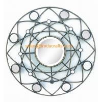 Quality Factory Price Round Shape Modern design Mirror Decorated Wall Mirror for sale