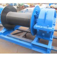 China Industrial Electric Winch High Speed For Crane , Electric Hoist Lifting Winch on sale