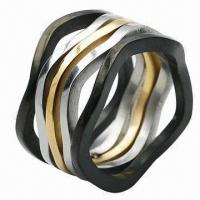 Quality Stainless Steel Rings, OEM and ODM Orders Welcomed for sale