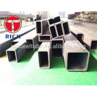 Quality JIS G 3466 Carbon Steel Square , Rectangular Structural Steel Tubing 5mm Diameter for sale