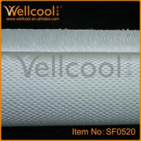 Washable And Breathable 100 Polyester Fabric With Top