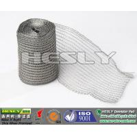 Buy cheap Wire Mesh Demister Pad Material, gas and liquid filter Mesh from Wholesalers
