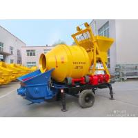 Quality High Efficiency Portable Concrete Pump 40m3/Hr With 4 Hydraulic Control Supporting Legs for sale