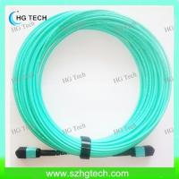 Quality OM3 MPO Fiber Optic Patch Cord for sale