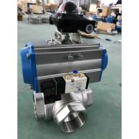 Quality Pneumatic Actuator Ball Valve Manufacturers for sale