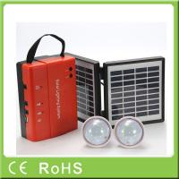 Buy cheap Wholesale 3.4W 9V lead acid battery portable mini power solar home lighting from wholesalers