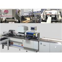 Buy cheap Automatic wire o binding machine PBW580S with punching and auto feed conveyor from wholesalers