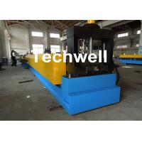 Quality 18 Groups Forming Roller Stand Steel Rack / Cable Tray Forming Machine With 2.3mm Material Thickness for sale