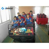 Quality Amusement 7D Interactive Motion Theater , Immersive 120 Movies 7D Simulator Entertainment for sale