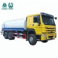 Quality Hydraulic Single Axle Water Tank Truck Internal Anti - Corrosion Treatment for sale