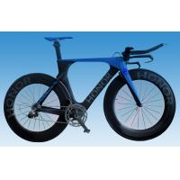 Quality Carbon Time Trial Bike Di2 Aerodynamic TT Bike Frame for 700c Wheelset for sale
