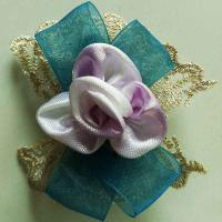 Quality Light Blue Sheer Toddler Girl Hair Clips Cute Hair Clips For Toddlers for sale