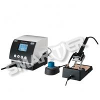 Quality 100W Digital Automatic Temperature Controlled Soldering Stations X2 With Sleeping Sensor for sale