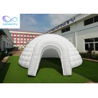 Buy cheap Outdoor Dia.6 meters inflatable oxford igloo tent for party/event rental from wholesalers