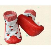 China cute rubber sole baby shoe socks on sale