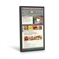 China 49 Inch Video Wall Mount LCD Display Plug In Play 178° Viewing Angle Kiosk Touch Screen on sale