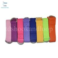 China Eco Friendly Yoga Exercise Strap , 100% Cotton Yoga Strap With Color Customized on sale