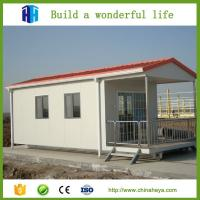 Quality Cheap export mini 1 bedroom eco friendly mobile homes design 28.91m2 for sale