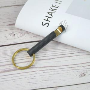 China 3K custom made carbon fiber key fobs, carbon fiber key chain, OEM keychain bottle opener on sale