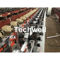 Quality PU Foam Rolling Shutter Door Slat Roll Forming Machine With 0-15m/Min Forming Speed, Gearbox Drive Type for sale