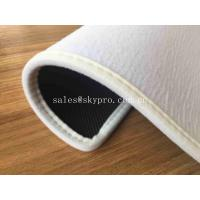 China Washable Non woven Blank Printing with Velvet Side Whipstitch Natural Rubber Door Mats on sale