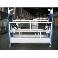 10M Safe ZLP630 Aluminium Alloy Rope Suspended Window Cleaning Platform Cradle Swing Stage