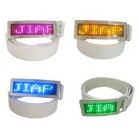 Quality Custom flashing led message display belt buckle for sale