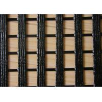 Quality Warp Knitting Geogrid for Lower Elongation , High Tensile Geogrid for sale
