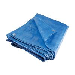 Quality 72gsm light duty blue tarpaulin pe plastic sheet for sale