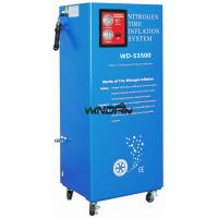 Quality 60W Vehicle Tire Nitrogen Generator , 95 to 99.5% Purity Nitrogen Tyre Inflation System for sale