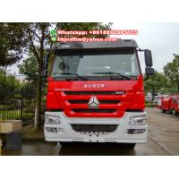 Buy 20-25tones 8x4 drive Sinotruck heavy duty fire fighting truck for sell at wholesale prices