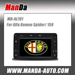 Quality Manda 2 din car multimedia for Alfa Romeo Spider/ 159 factory navigation in-dash dvd head unit for sale