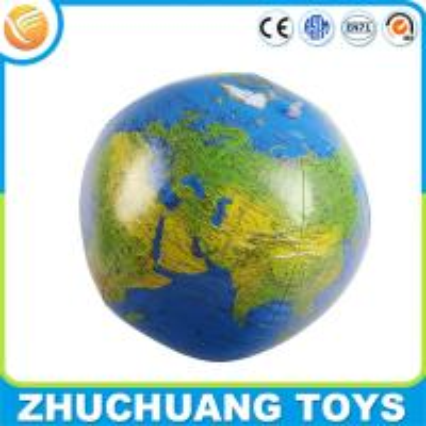 inflatable softball earth globe world map beach ball for ...