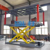 Buy cheap Heavy - Duty Hydraulic Car Lift For Basement Car Elevator Parking Systems from wholesalers